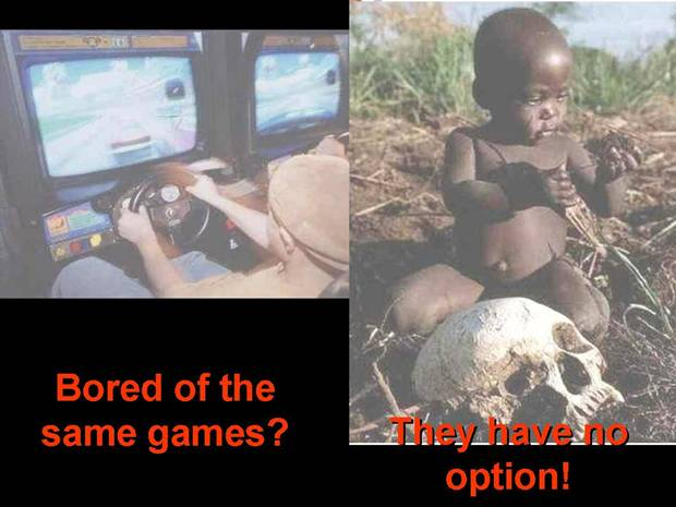Bored of the same games? They have no option!
